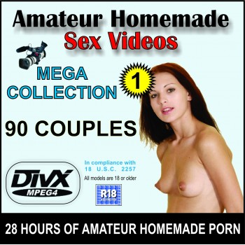 Amateur Homemade Sex Videos - Collection 1 (16 GB)